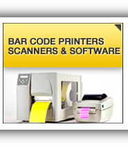 Bar Code Printers, Scanners & Software